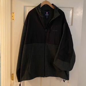 Chaps Fleece Zip Up, Size XL